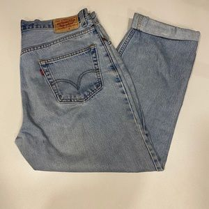 "Levi's ""mom"" / men's jeans"